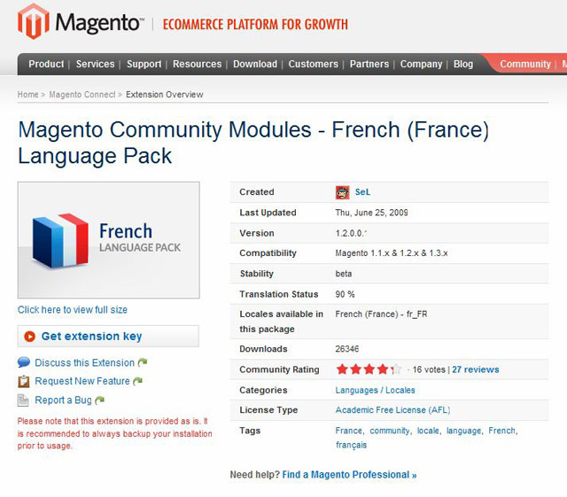 magento-connect-traduction
