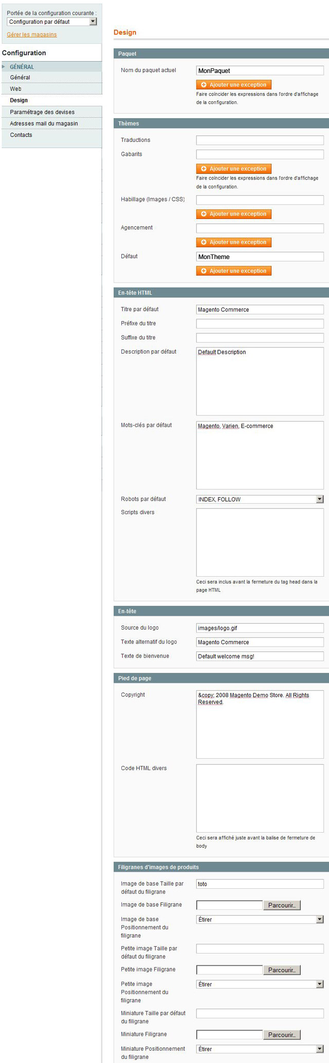 systeme-configuration-design