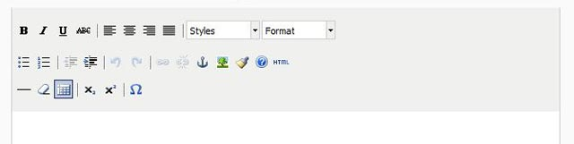Fontis WYSIWYG Editor tinyMCE
