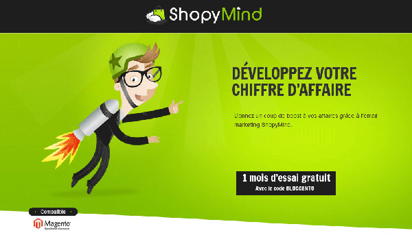 Shopymind marketing mail ecommerce avec magento