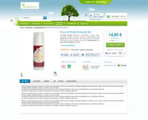 Huile et nature cosmtétiques bio fleurs de bach , huiles essentielles