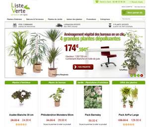 Liste verte jardinerie en ligne